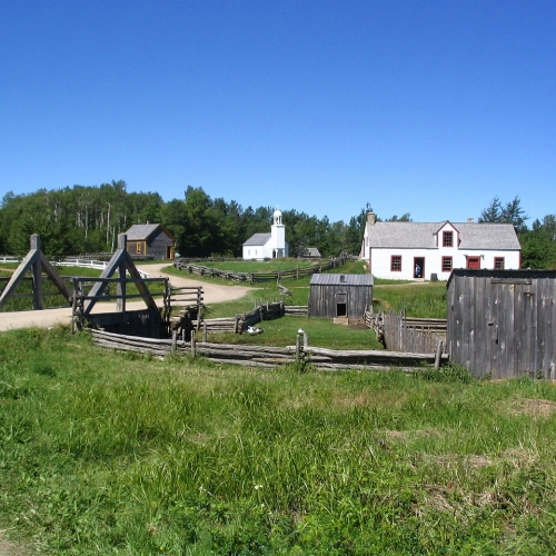 The Village Historique Acadien (photo: Dr Wilson)