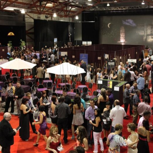 The Grand Tasting at the FestiVin